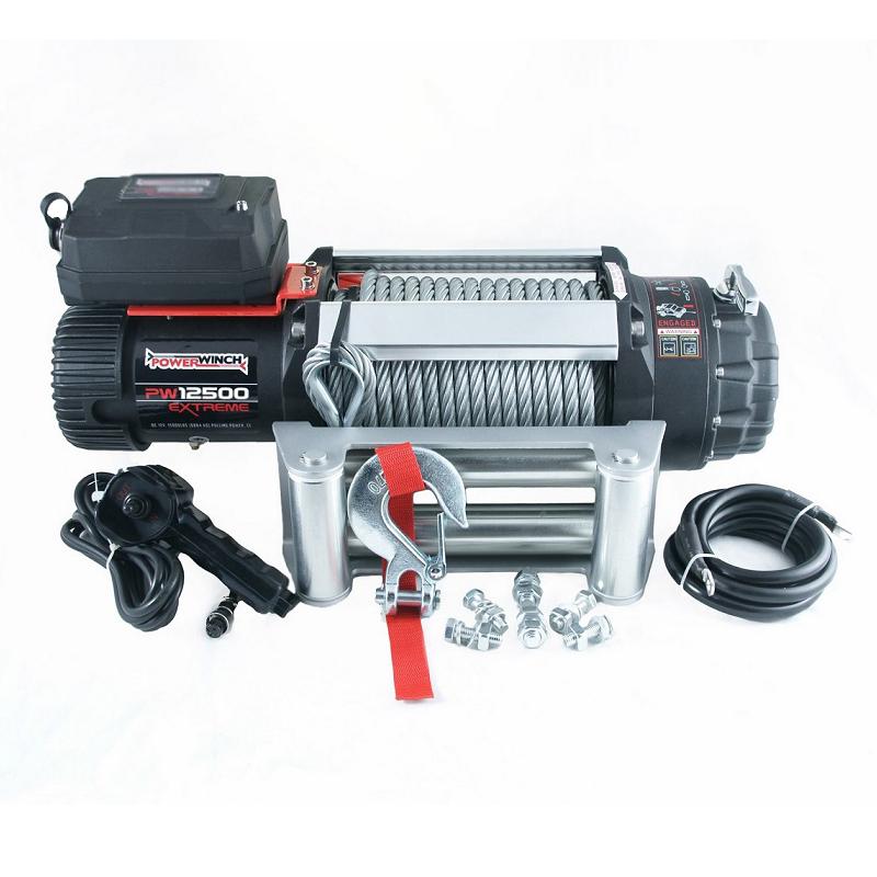 Wyciągarka elektryczna K12500 Extreme HD 12V z liną stalową