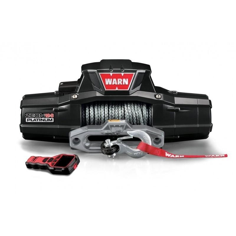 Wyciągarka elektryczna - Warn Zeon 12K-S Platinum (uciąg: 5443 kg)