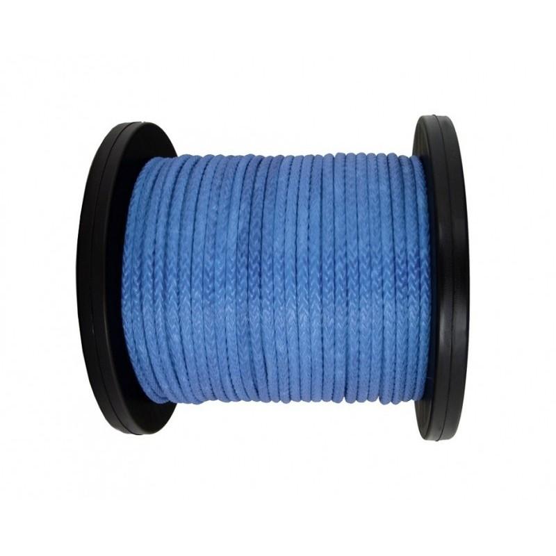 Lina syntetyczna 8 mm, niebieska, MBL 6.8T