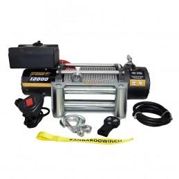 Wyciągarka elektryczna K12000 12V z liną stalową