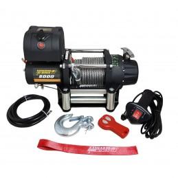 Wyciągarka elektryczna Kangaroowinch K8000E 12V z liną stalową