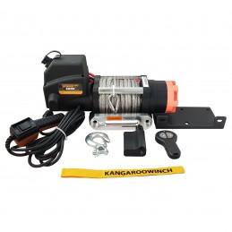 Wyciągarka elektryczna K6000E 12V z liną syntetyczną i sterowaniem bezprzewodowym