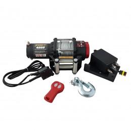 Wyciągarka elektryczna K4000 12V ze sterowaniem bezprzewodowym