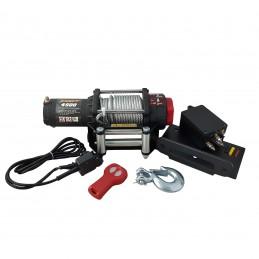 Wyciągarka elektryczna K4500 12V ze sterowaniem bezprzewodowym
