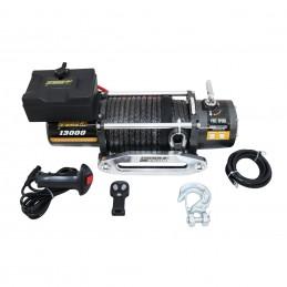 Wyciągarka elektryczna K13000 12V z liną syntetyczną